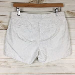 Banana Republic Shorts - 3/$30 Hampton Fit white cotton embroidered shorts